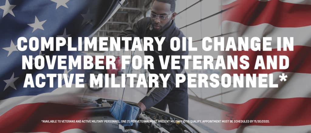 Veteran's Oil Changes