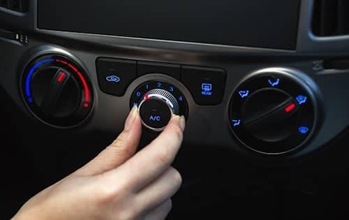 Car Interior Air Conditioning