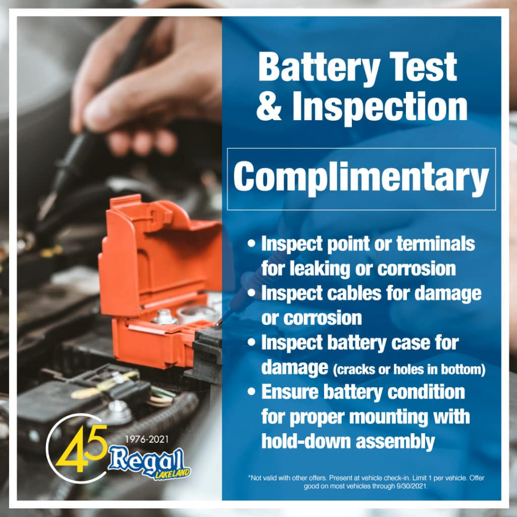 Battery Test and Inspection