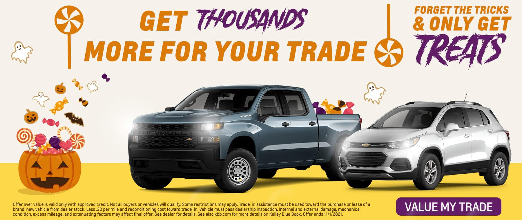 Get Thousands More For Your Trade   Forget The Tricks & Only Get Treats