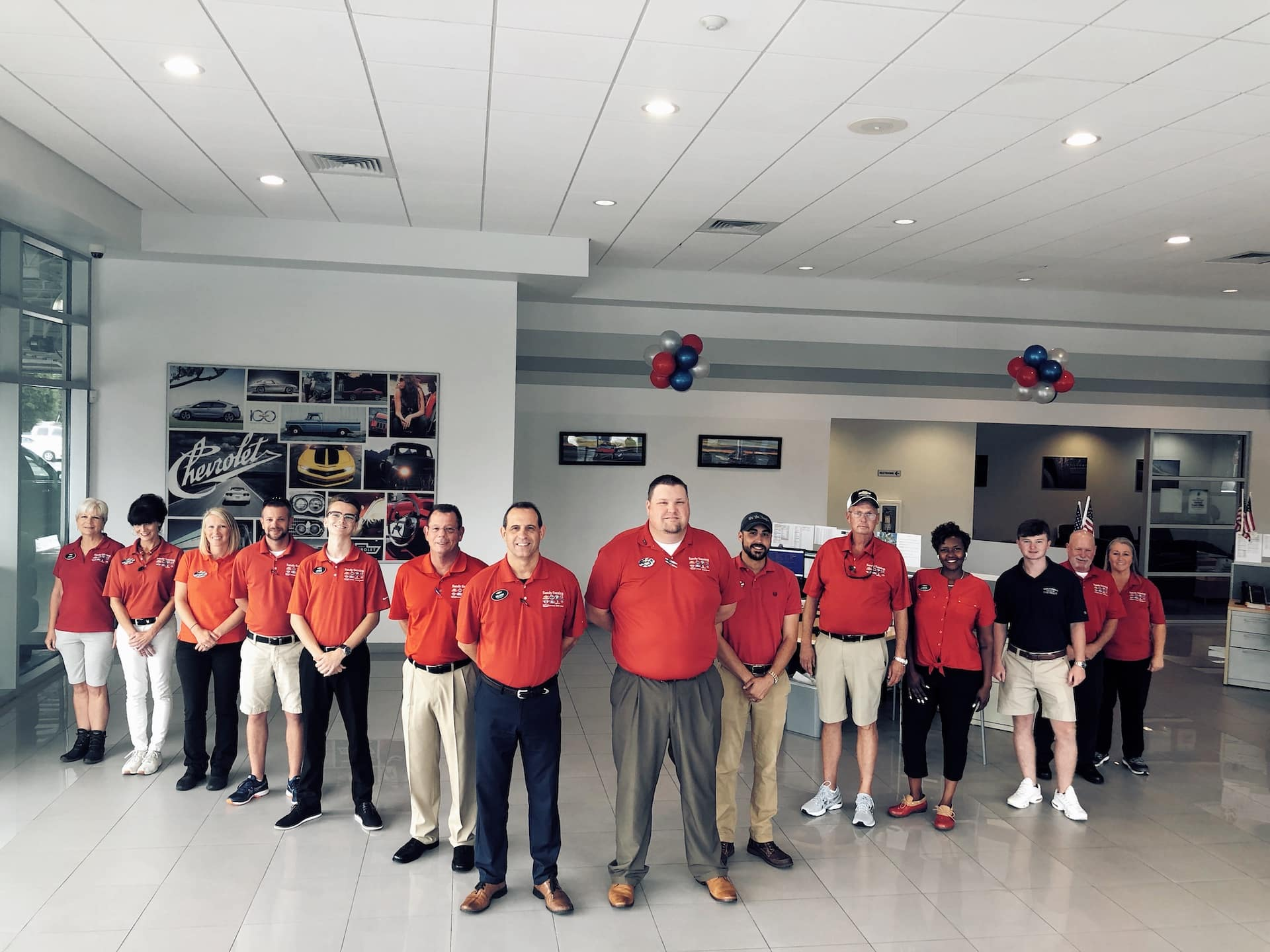 Sandy and Bubbas Milton Chevrolet Staff
