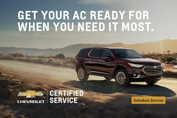 chevy certified service