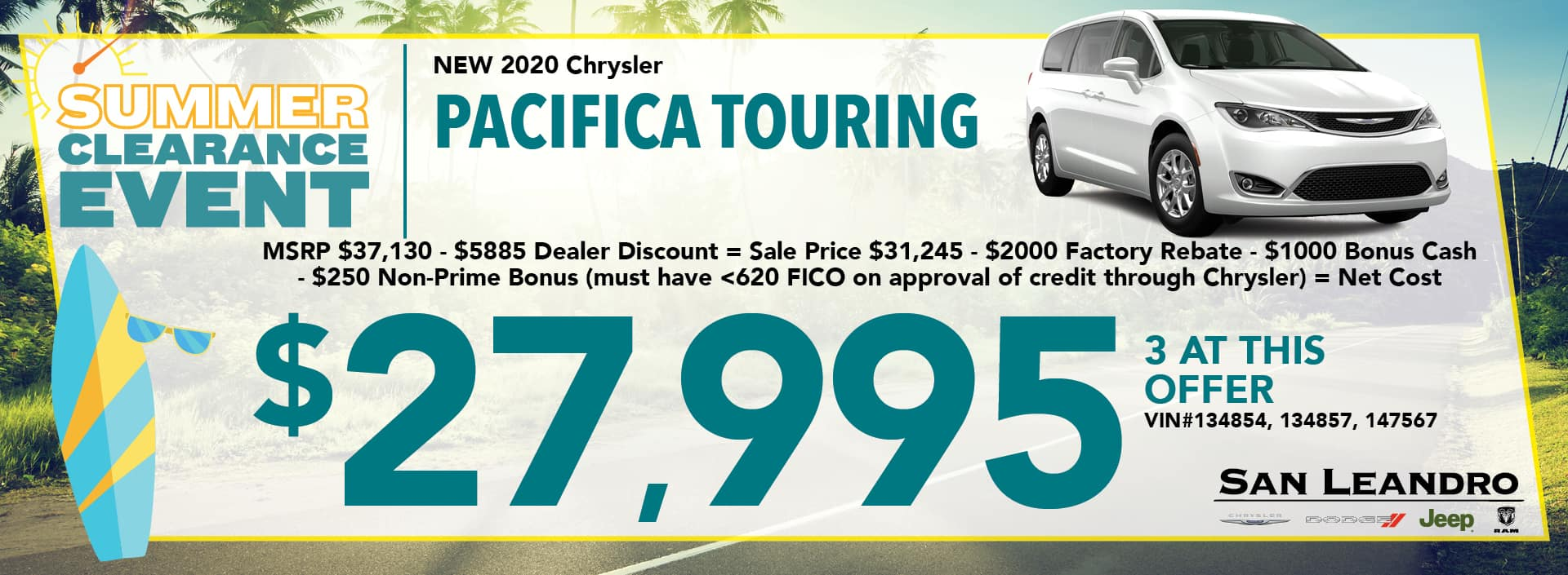 Pacifica Touring