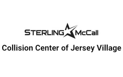 sterling mccall collision jersey villiage logo