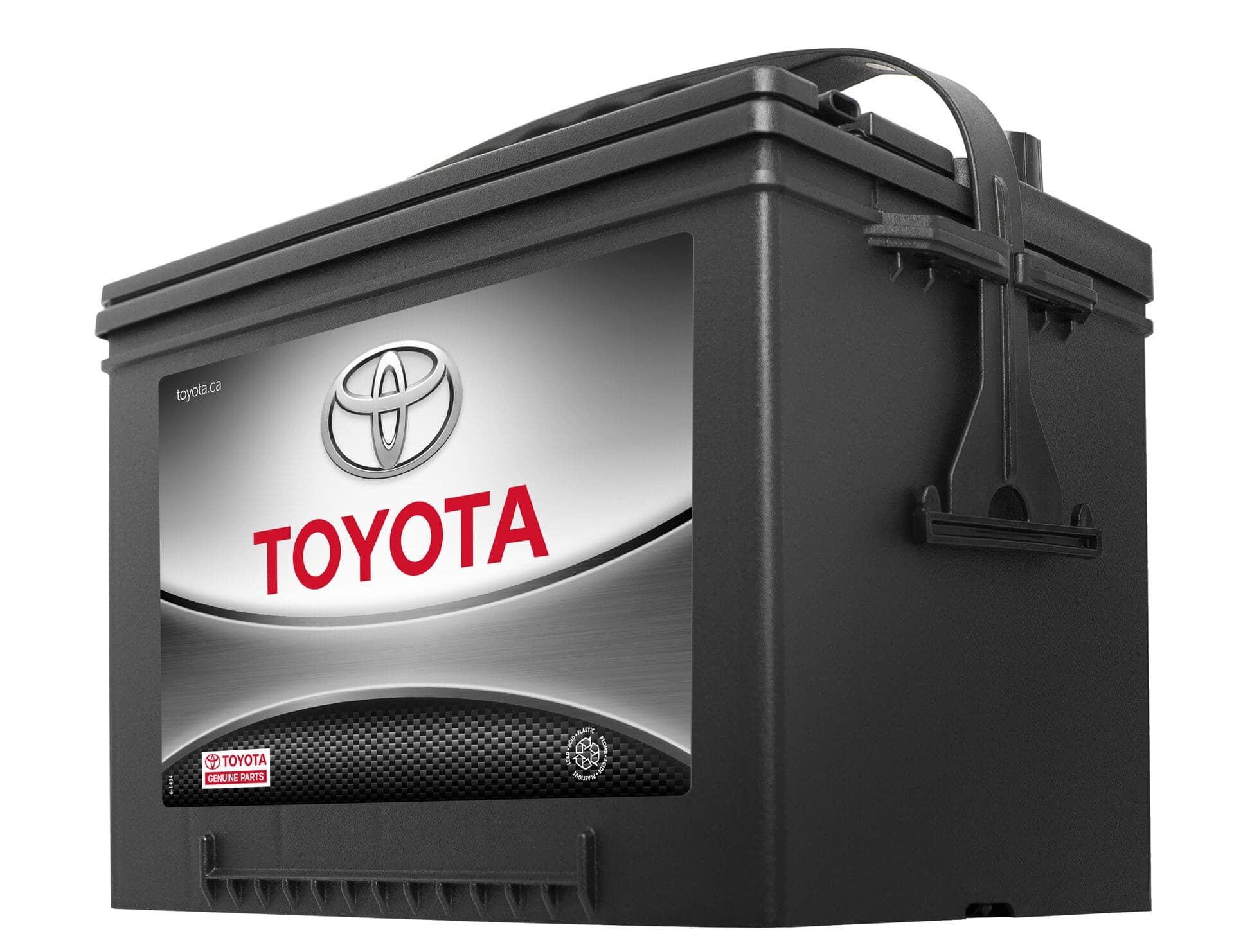 Battery service at Sherwood Park Toyota