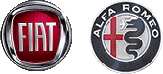 Fiat and Alfa Romeo Logos