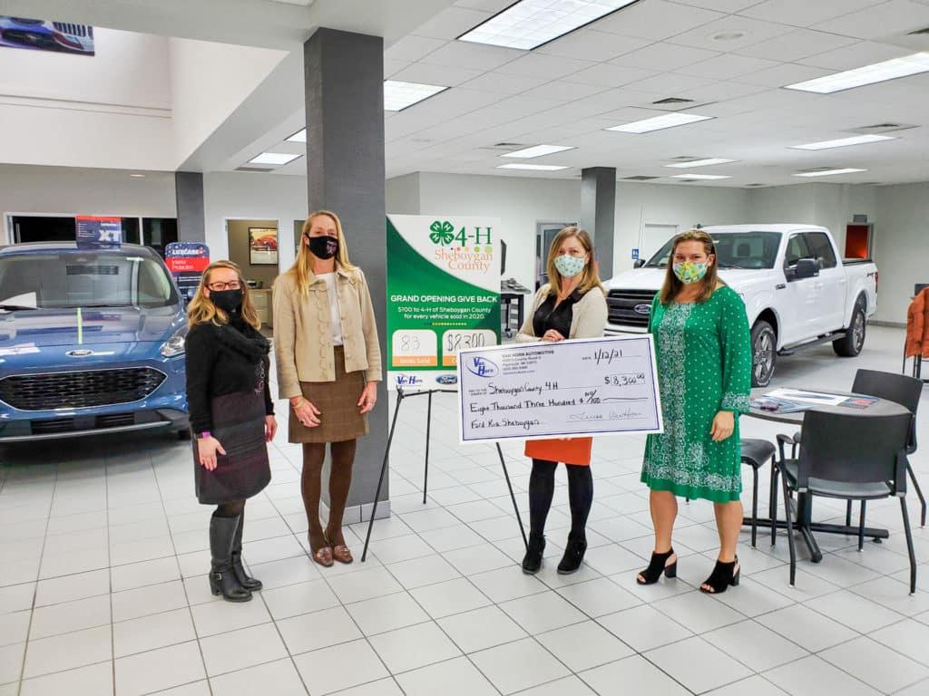 van horn donation to 4-h 2021