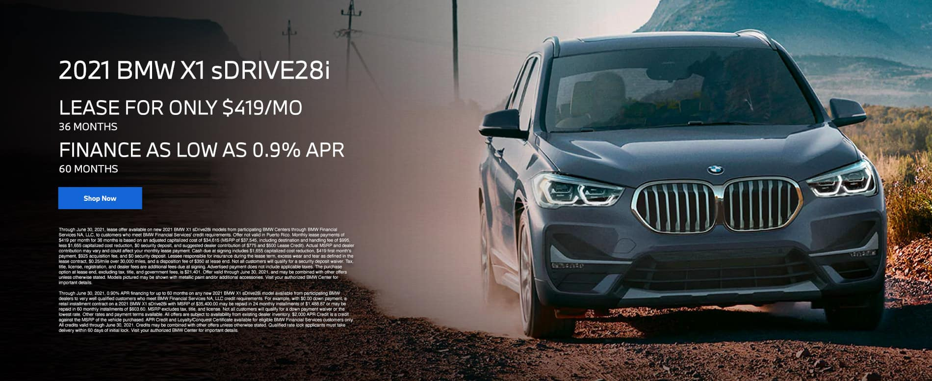 BMW X1 Offer
