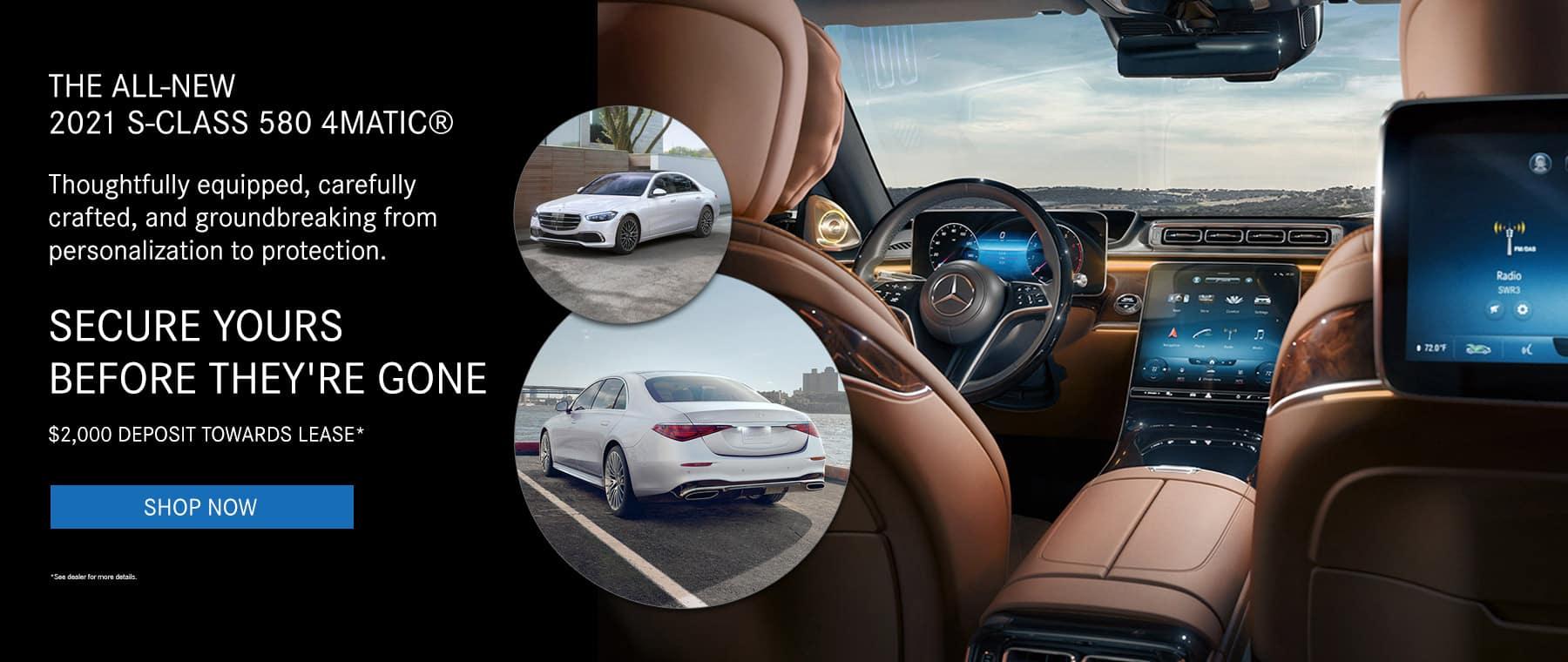 New 2021 Mercedes-Benz S-Class