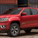 2020 Red Chevrolet Colorado