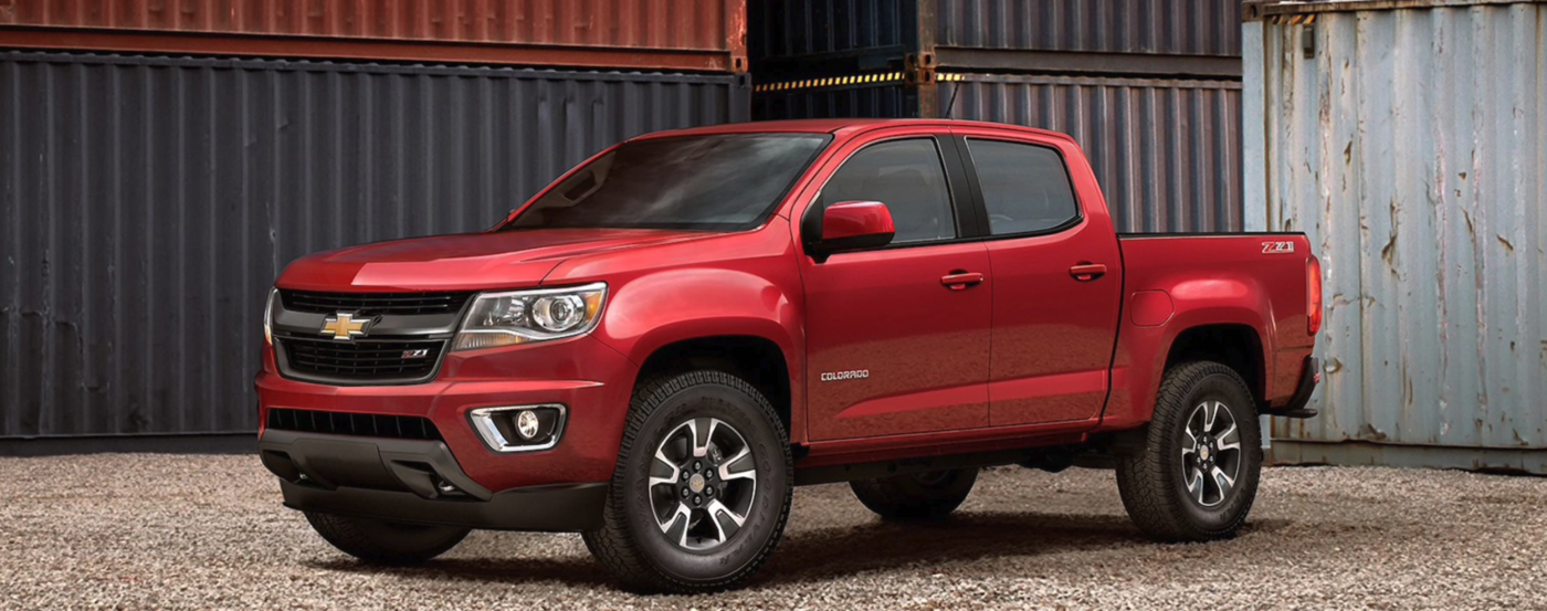 2020 Red Chevrolet Colorado