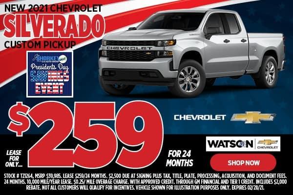 2021 Chevrolet Silverado 1500 Pickup
