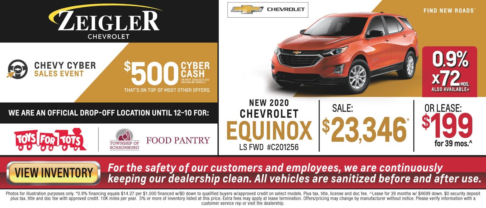 Cyber Sales Event - Equinox